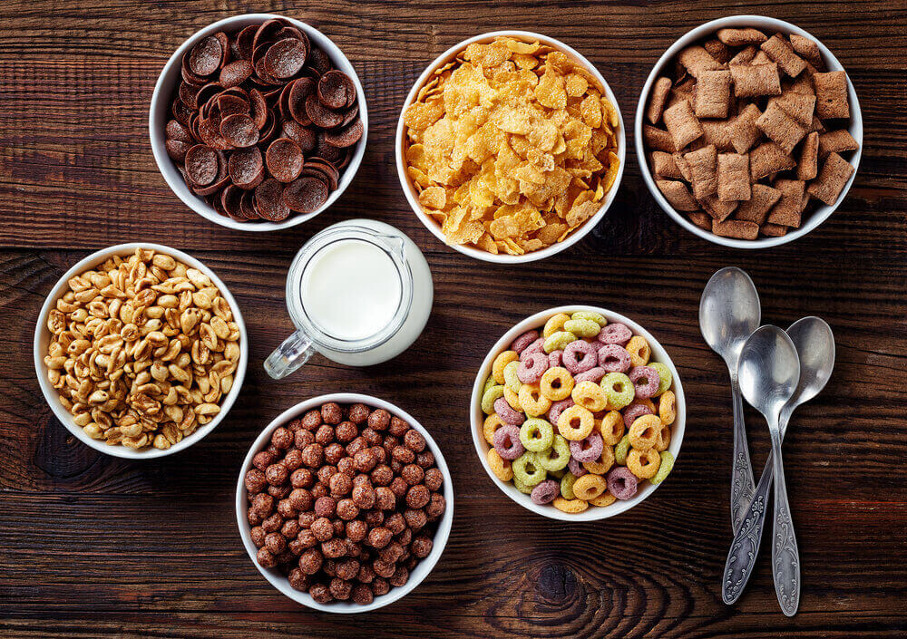 Cereals for anemia