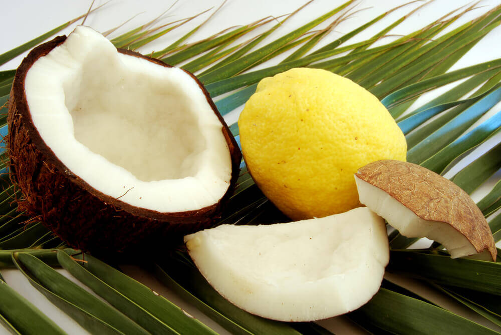 Coconut and Lemon