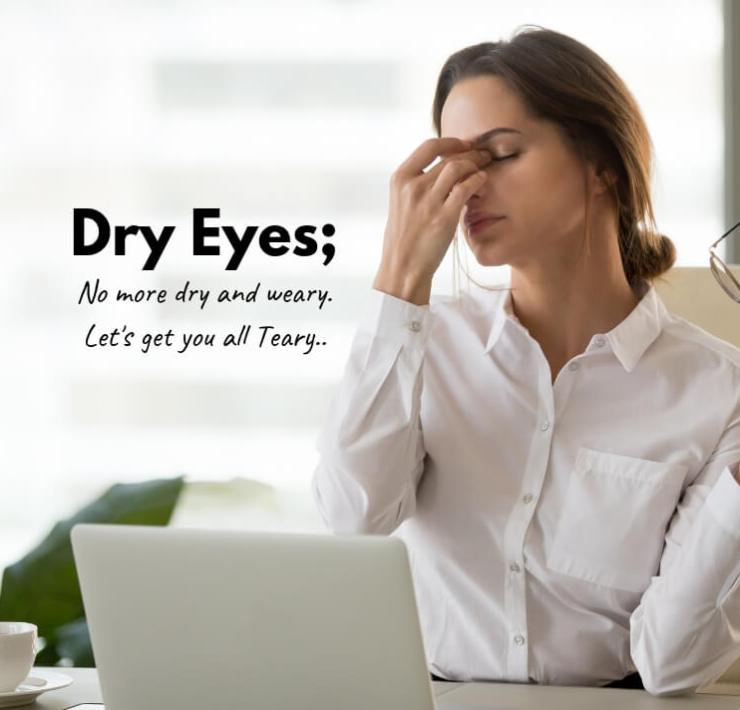 how to cure Dry Eyes