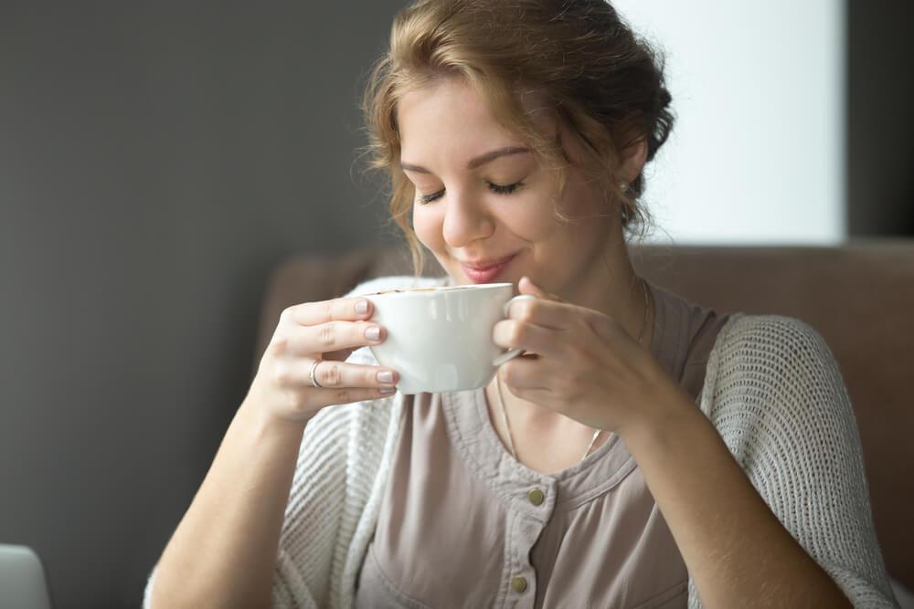 Women Sip Tea