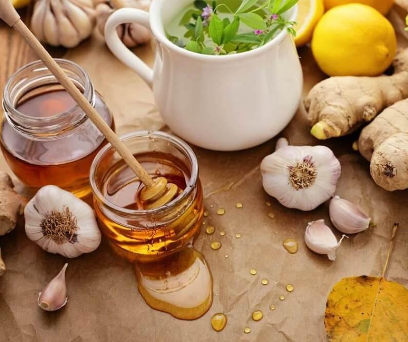 garlic honey and lemon benefits