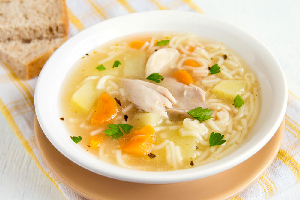 chicken soup drink
