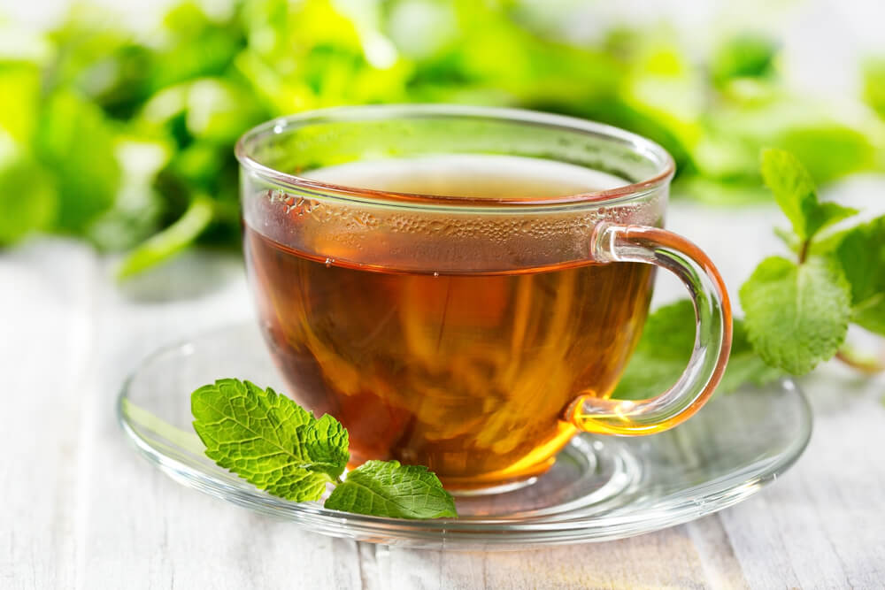 Green Tea and Mint
