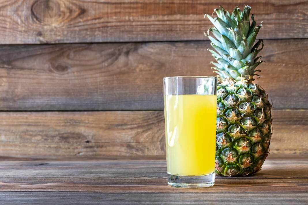 Pineapple Juice for Sore Throat