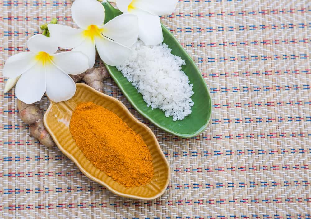 Turmeric and Salt