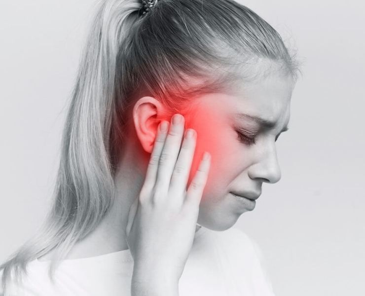 essential oil or ear pain