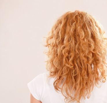 frizzy hair DIY