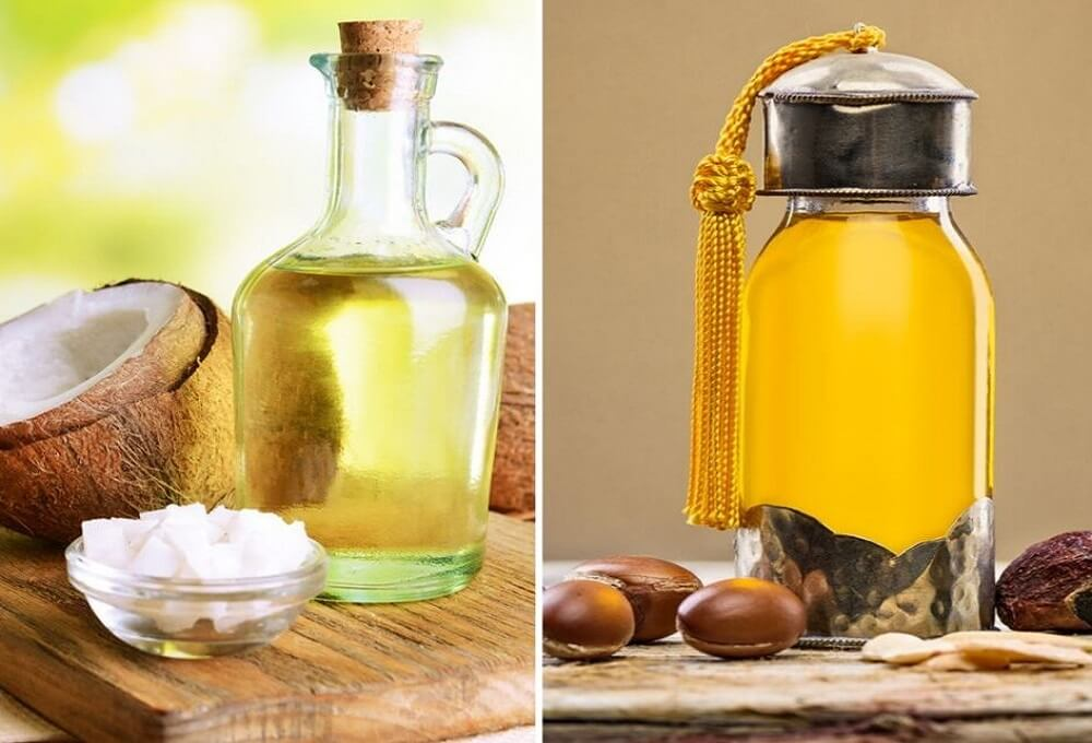 Argan Oil and Coconut Oil