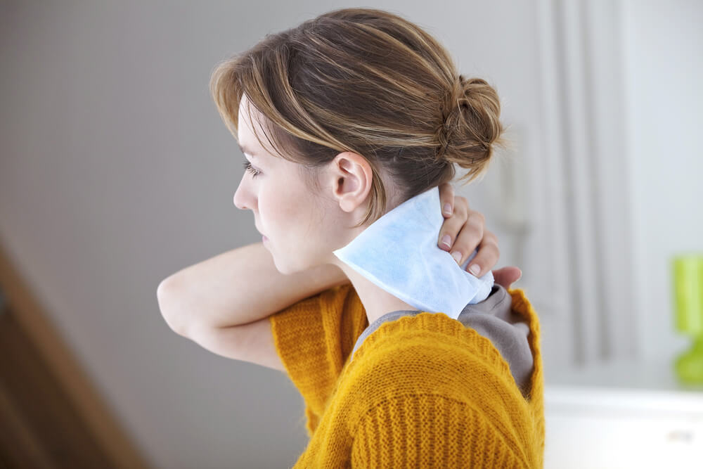 Cold or Hot Pad on Neck