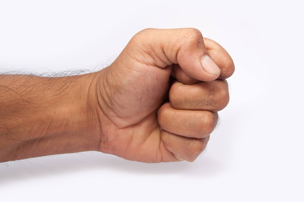 Fan with Your Fist