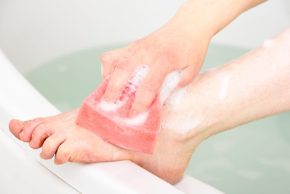 Feet Exfoliation