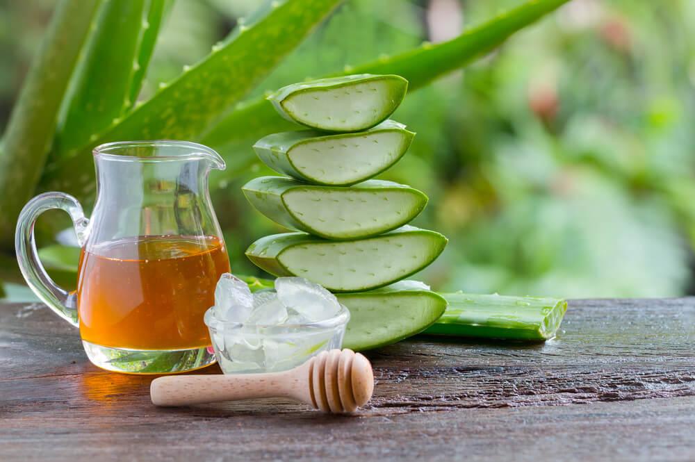 Honey and Aloe Vera