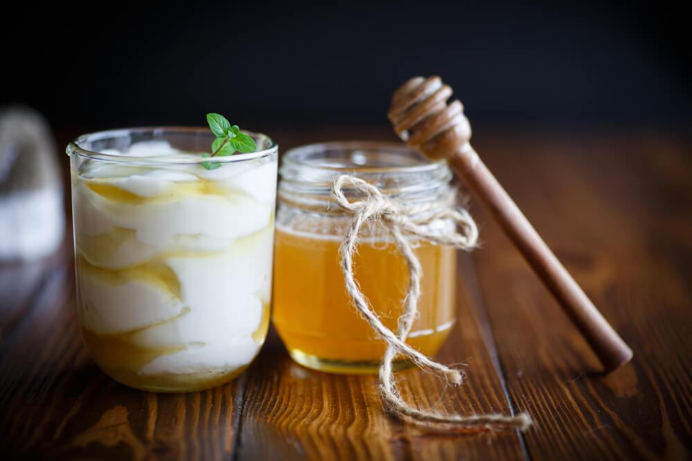 Honey and Greek Yogurt