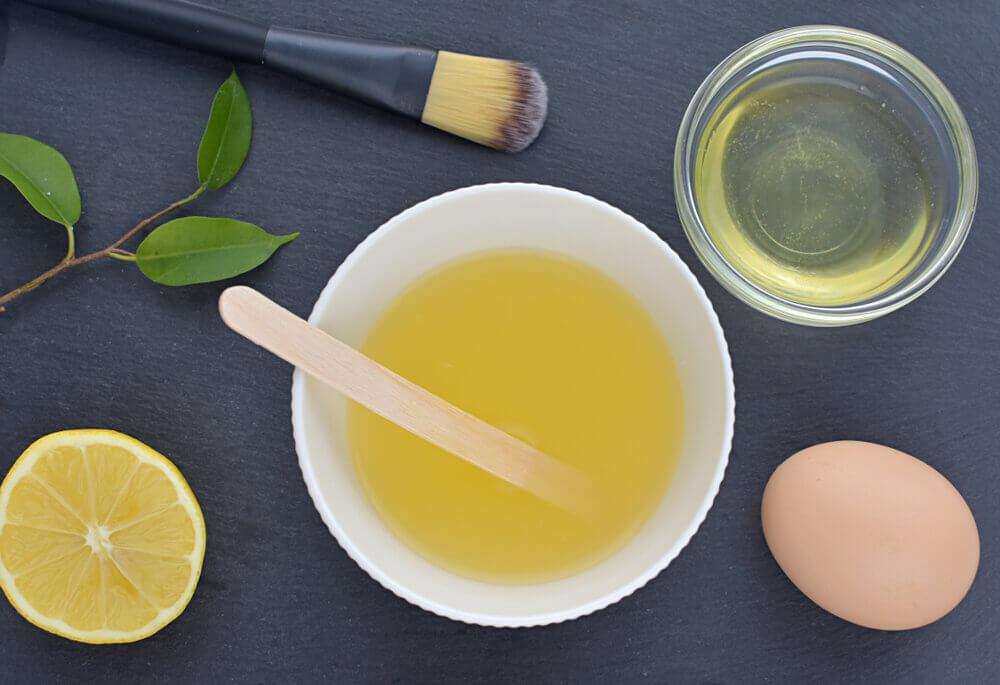 Lemon Juice and Egg Whites