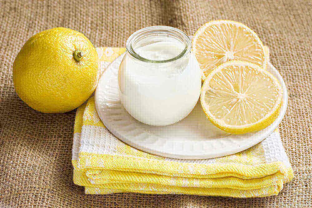 Lemon and Yoghurt