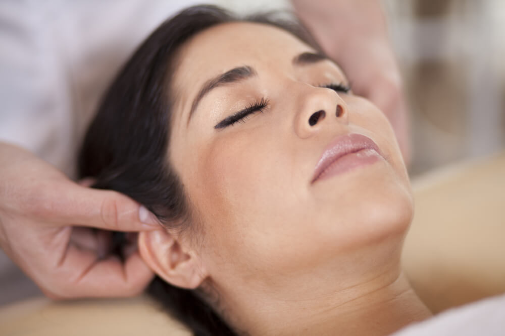 Massage for ear pain