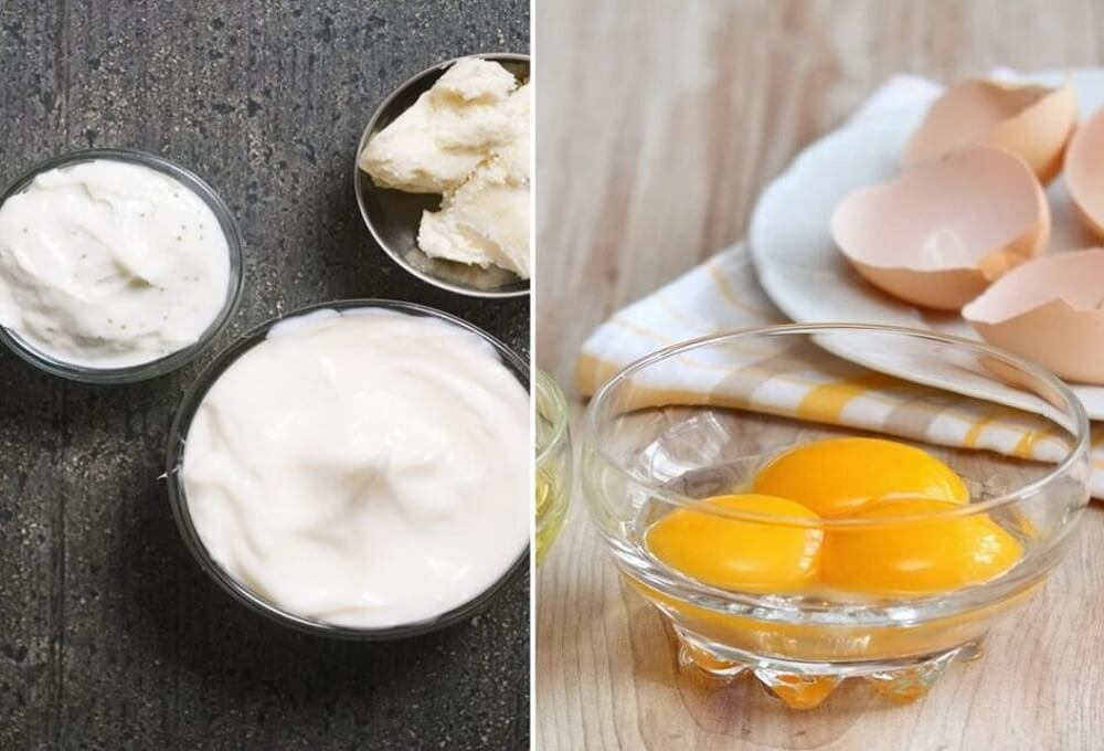 Shea Butter and egg