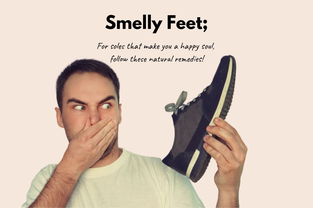 natural remedies for smelly feet
