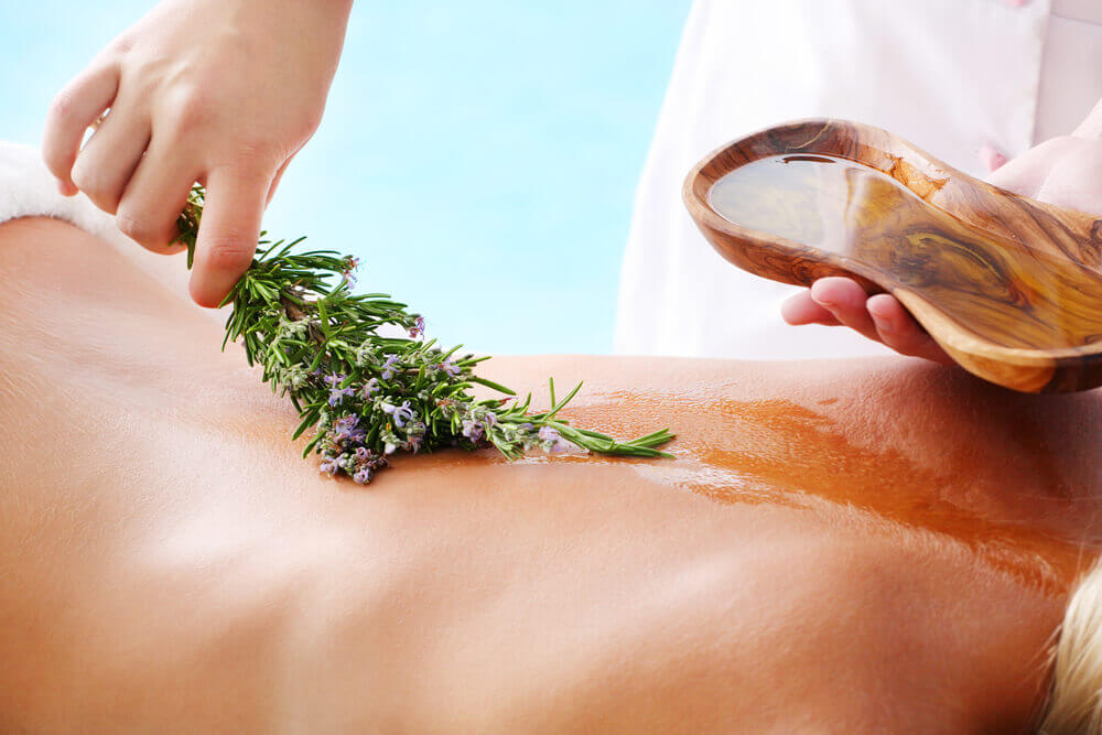 Lavender Oil Massage
