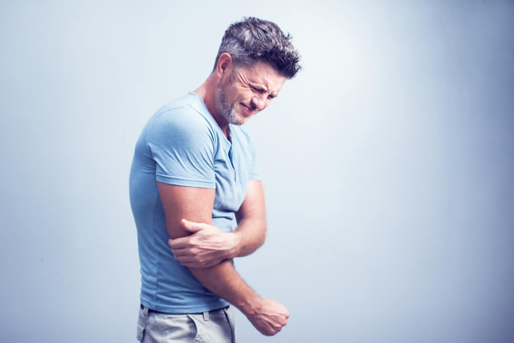 Men with Joint Pain