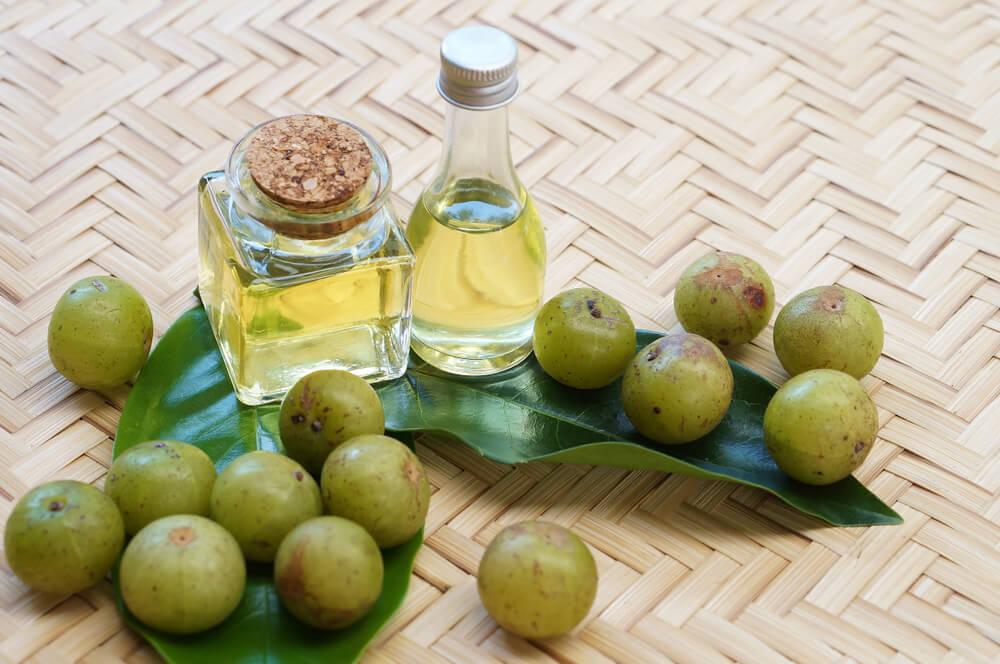 Amla and Coconut Oil