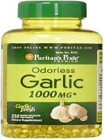 Puritan's Pride Odorless Garlic