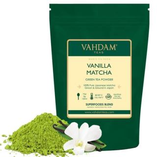 Vanilla + Matcha Green Tea Powder