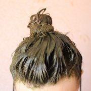 henna hair mask