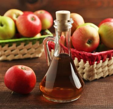 Apple cider vinegar enema