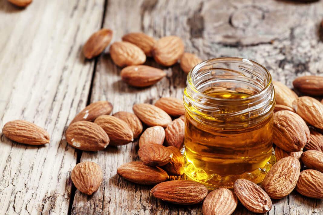 sweet almond oil for face