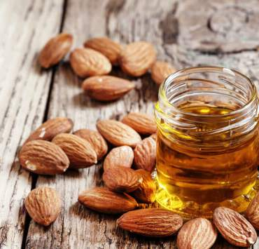 sweet almond oil for face