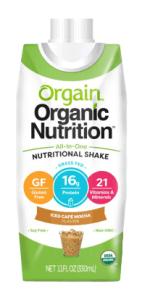 orgain nutritional shake