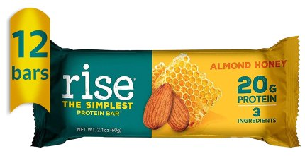 Rise Whey Protein bar
