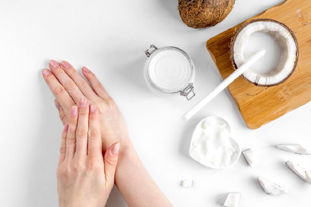 coconut oil lotion