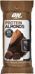 optimum nutrition protein almonds snacks