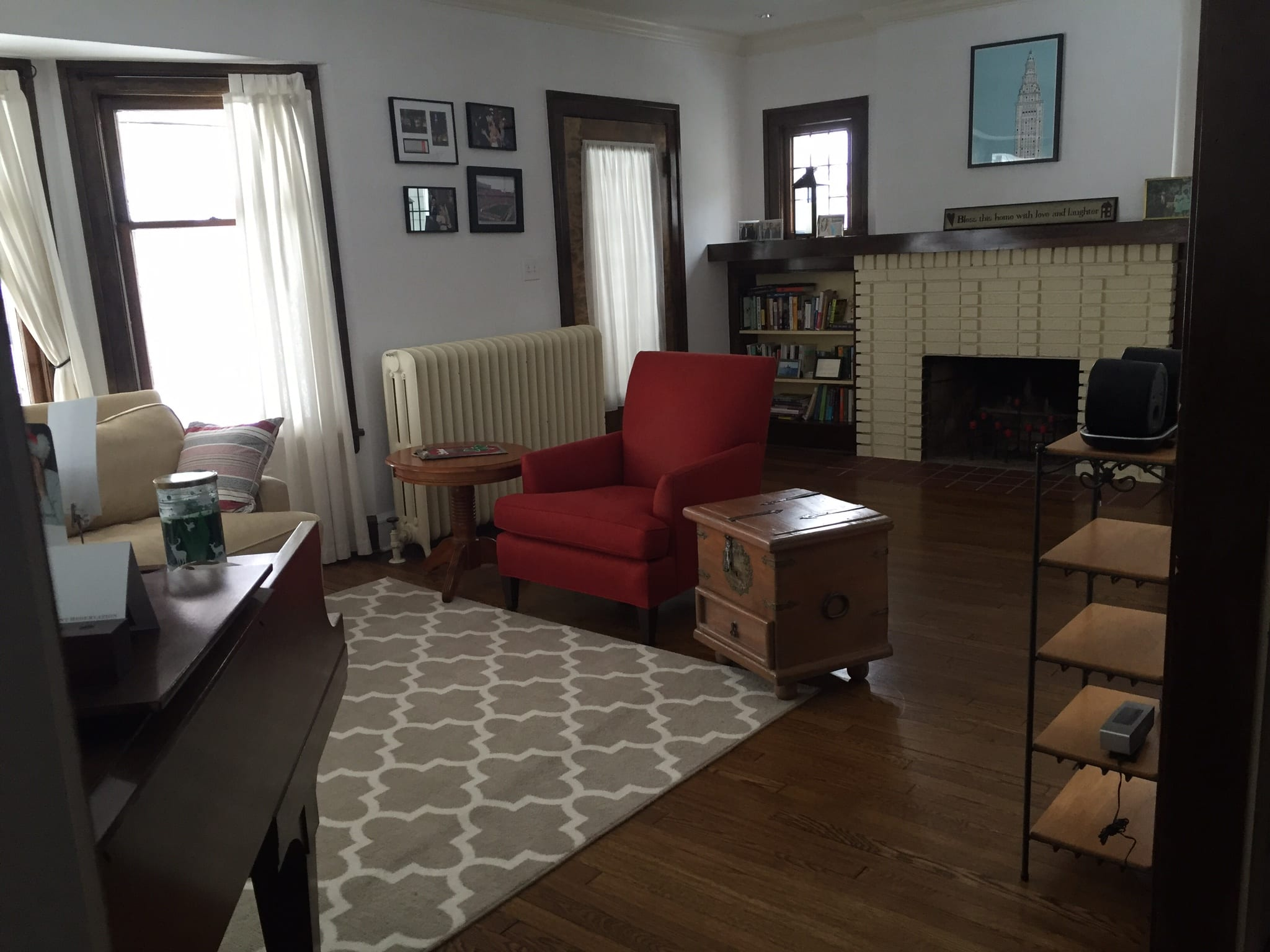 Layout For An Awkward, Small Living Room  How To Decorate