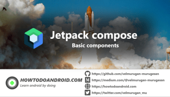 jetpack compose bacis components poster
