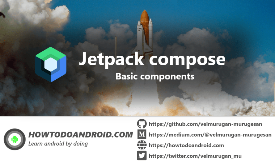 Getting started with jetpack compose – Basic components