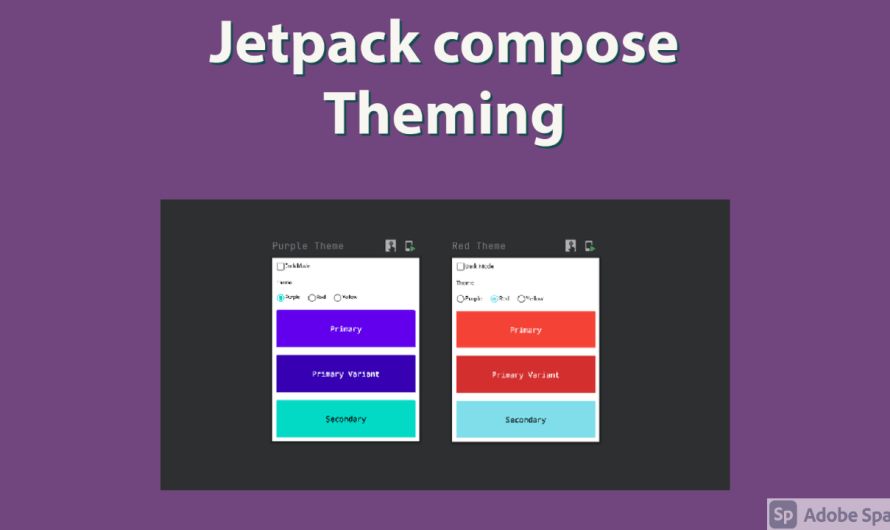Getting started with jetpack compose – Theming