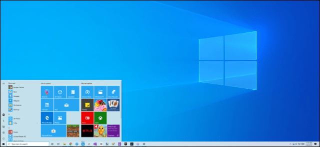 New bright theme and Windows 10 screen background