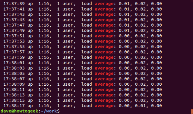 Exit from grep -i Average geek-1.log in a terminal window