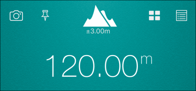 The altitude indicated from the data file