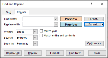 Formatting overview