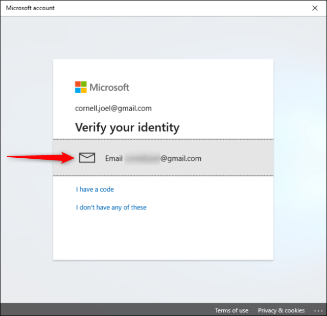 Check your identity