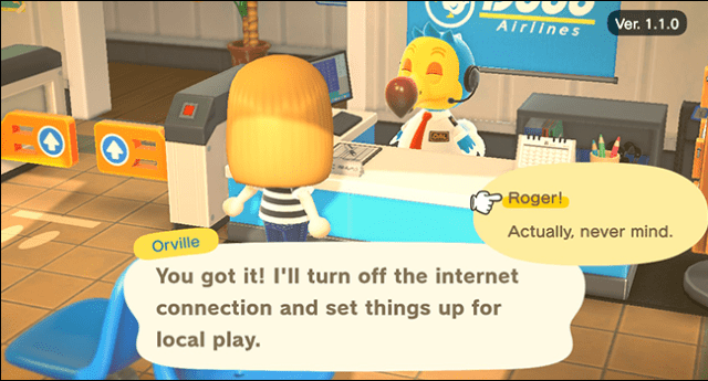 Animal Crossing new horizons local play
