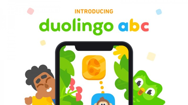 Duolingo ABC app on iPhone
