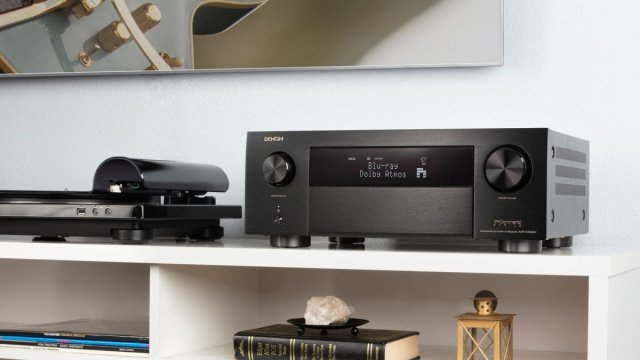 Denon AVR 4500H in configuration with active screen display