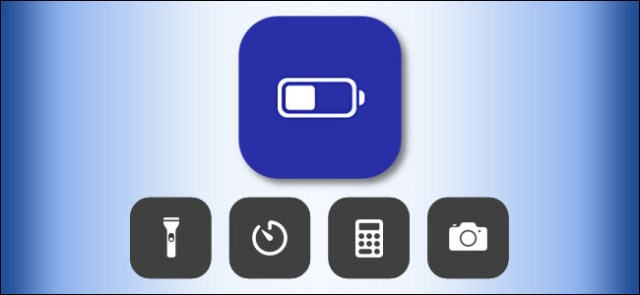 Low Battery Mode icon in the iOS Control Center