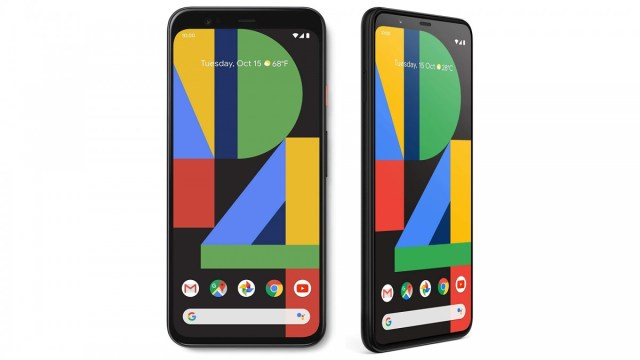 A photo of the Google Pixel 4