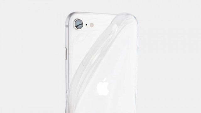 A photo of the totallee transparent soft case.